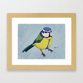 The Blue Tit Framed Art Print
