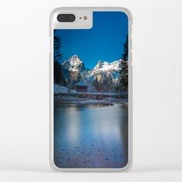 Schiederweiher Clear iPhone Case