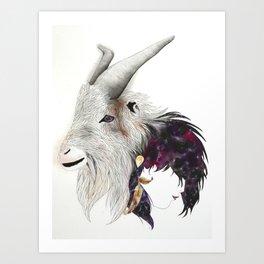 Goat Totem - Totem Series Art Print
