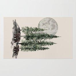 Full Moon Rising Rug