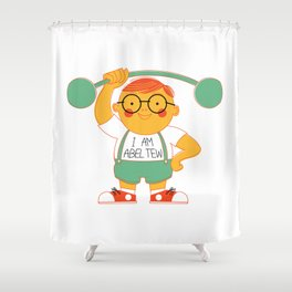Abel Tew Year 01 Shower Curtain