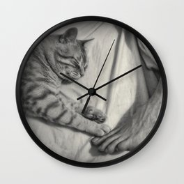 Life is Better With a Cat Wall Clock