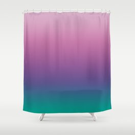 Pastel Gradient Pink Lavender Ultra Violet Arcadia Pattern | Pantone colors of the year 2018 Shower Curtain