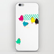 chicken house iPhone & iPod Skin