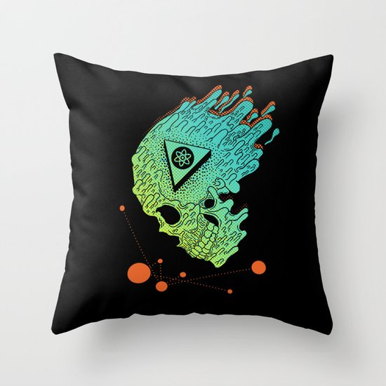 Child of Atom Throw Pillow
