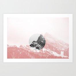 Mountain 01 Art Print