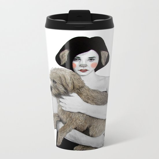 Rena Metal Travel Mug
