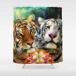 Tiger Lillies Shower Curtain