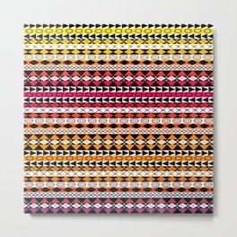 African Design - Multi Colors Metal Print