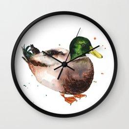 Mallard Morning Wall Clock