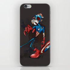 ZOMBIE CAPTAIN  iPhone & iPod Skin