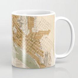 Vintage Map of Richmond VA (1864) Coffee Mug