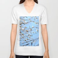 grass V-neck T-shirts featuring grass by  Agostino Lo Coco