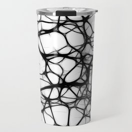 Black neurons Travel Mug