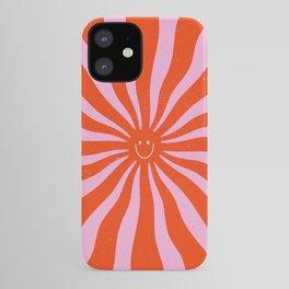 Retro Sun Vintage 70s  iPhone Case
