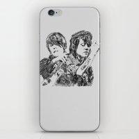 tegan and sara iPhone & iPod Skins featuring Tegan & Sara by sostular