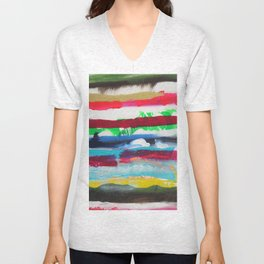 Cloudy Petoskey Unisex V-Neck