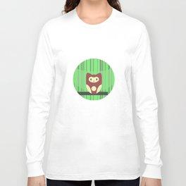 Brown Owl Long Sleeve T-shirt