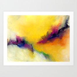 Embracing the light #2 Art Print