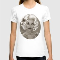 silent T-shirts featuring Silent Stargazer by Wendy Stephens