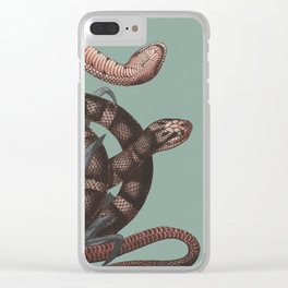 Snakes (animals collection) Clear iPhone Case