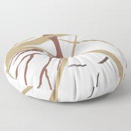 """Mr. """"Tree in hat!"""" Floor Pillow"""