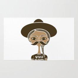 Viva Zapata - White Rug