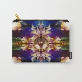 Music speaker and kaleidoscope clouds Carry-All Pouch