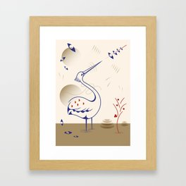 airone Framed Art Print