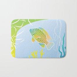 Sea Something Fishy Bath Mat