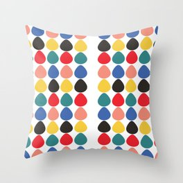 see parting Throw Pillow