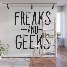 Freaks And Geeks Wall Mural