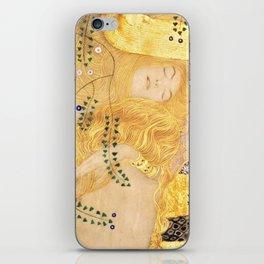 Water Serpents - Gustav Klimt iPhone Skin