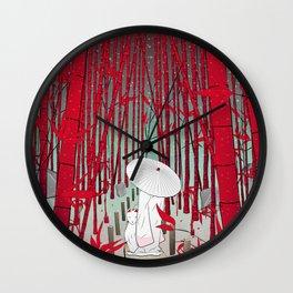 Yuki- onna Wall Clock