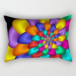turn around with colors -28- Rectangular Pillow