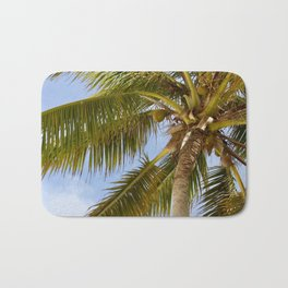 Palm Tree in Cuba Bath Mat