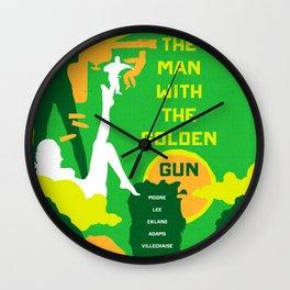 James Bond Golden Era Series :: The Man with the Golden Gun Wall Clock