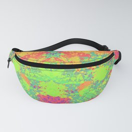 Vibrant colorful paint Fanny Pack