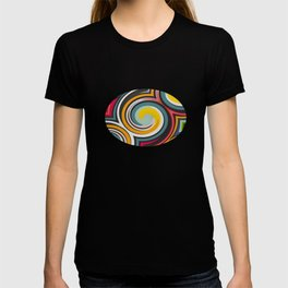 Retro Style colors and pattern T-shirt