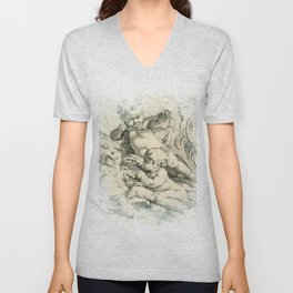 Cherub Dreams No.002 Unisex V-Neck