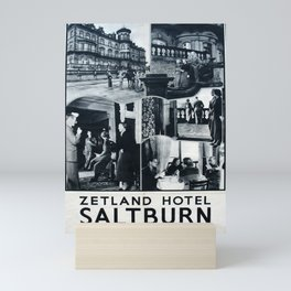 cartel Saltburn-by-the-Sea Mini Art Print
