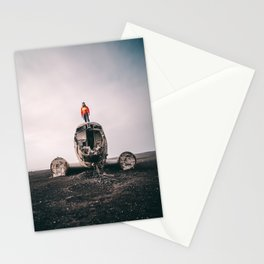 Iceland Airplane Wreck Stationery Cards