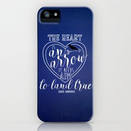 The heart is an arrow - Six of Crows iPhone Case