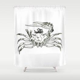 Freaky Fiddler Shower Curtain