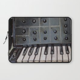 Vintage Analog Synthesizer Laptop Sleeve