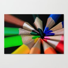 Color Box Canvas Print