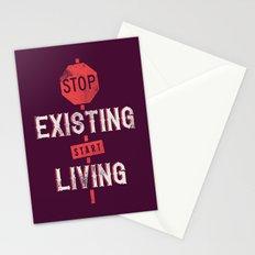 Start living Stationery Cards
