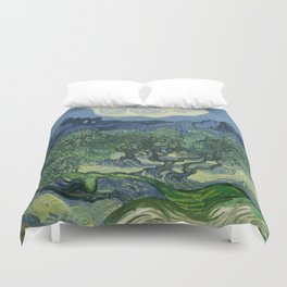 The Olive Trees Duvet Cover