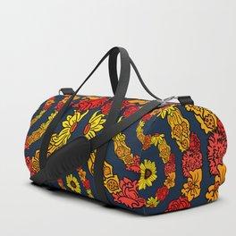 Summer Circle Duffle Bag