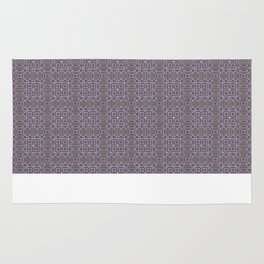 Digital Chip Inspired Quilted Designs Rug